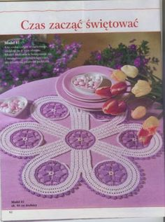 """Photo from album """"Szydelkowanie on Yandex. Crochet Necklace, Crochet Patterns, Album, Blog, Stuff To Buy, Jewelry, Trapper Keeper, Picasa, Places"""