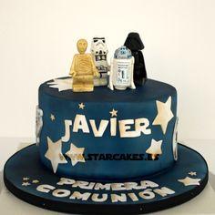 Tarta Star Wars Lego Star Wars Lego Cake #StarWars #Lego #Tartas Fondant  Síguenos Facebook: https://www.facebook.com/starcakes.es Instagram: http://instagram.com/starcakesmadrid