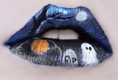 halloween lips....so cool!