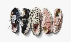 Vans Is Dropping Velour Sneakers & Fuzzy Slip-Ons In Its Sandy Liang Collection Vans Sneakers, Chuck Taylor Sneakers, Converse, Vans Website, Juicy Tracksuit, Faux Snow, Sandy Liang, Gucci Loafers, Shoe Brands