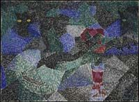 Severini - Le  chat noir 1911