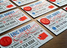 Eric Harvey Business Cards