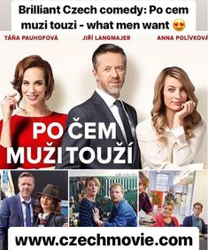 Brilliant Czech comedy: Po cem muzi touzi (What men want) What Men Want, Main Theme, Ex Wives, Guys Be Like, Deep Thoughts, Female Bodies, Playboy, New Look, How To Become