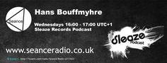Check out Hans Bouffmyhre's Sleaze Records Podcast on Seance Radio Wednesdays 16:00 UTC+1 #Techno