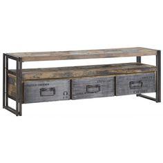 d-Bodhi tv-meubel Ferum, 3 laden, 1 open vak d-Bodhi Ferum Collection Kasten
