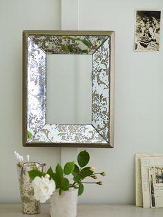 Beautiful Mercuried Glass Mirror  |  Cox & Cox