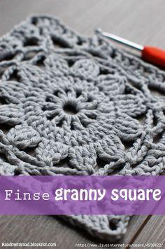 Финский бабушкин квадрат