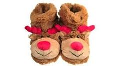 Image result for christmas slippers Kids Slippers, Teddy Bear, Toys, Christmas, Image, Activity Toys, Xmas, Clearance Toys, Teddy Bears