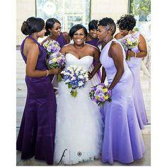 Her Smile is Gorgeous! #GoodLookingBride #Bridesmaid Photographed by @fbfatlanta #BridalParty #9naijaBrides
