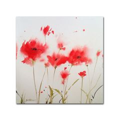 Sheila Golden 'A Poppy Moment' Art