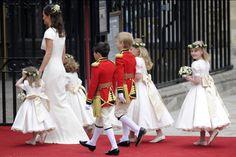 Pippa Middleton & bridal entourage