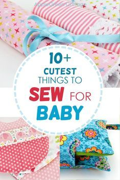 Easy Baby Sewing Patterns, Baby Sewing Tutorials, Burp Cloth Patterns, Baby Sewing Projects, Sewing Projects For Beginners, Sewing For Kids, Easy Patterns, Free Sewing, Sewing Ideas