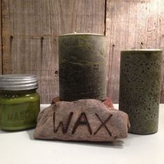 Oakmoss-A sensual, earthy aroma with green bitterness, bark-like qualities and a slight leather undertone. Made by Wax Candle Company in Helena, Arkansas. Available at Handworks Helena. http://www.handworkshelena.com/product/wax-candle-company-oak-moss-2/