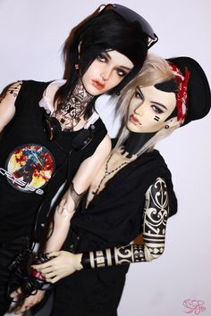 The coolest dolls, I've ever seen in my life....