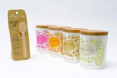Organic gelato packaging for a conceptual brand called Willow and Sage from RMIT student Zoe Blow.