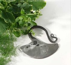 SMOOTH Blacksmith Forged Vegetable / Herb Choppers