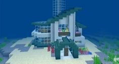 Cool Minecraft Houses - Ideas for Your Next Build! Minecraft Mods, Amazing Minecraft Houses, Minecraft Small Modern House, Minecraft Japanese House, Minecraft Starter House, Minecraft Villa, Cool Minecraft Banners, Minecraft Mansion, Minecraft Plans