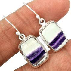 Multi Fluorite 925 Sterling Silver Earrings Jewelry MFCE38 - JJDesignerJewelry