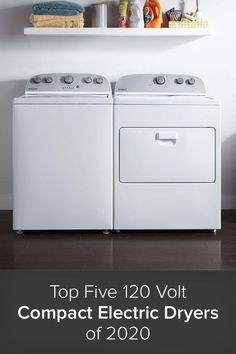 A 120 Volt Compact Dryer offers all of the modern features you could expect from a premium dryer, but with some additional benefits. First, instead of needing a special 220 volt outlet or adapter as you do with many dryers, a 120 volt dryer simply plugs into a normal electrical wall socket. Plus, being a compact dryer means a smaller footprint, which can really expand the amount of locations you can install the unit.