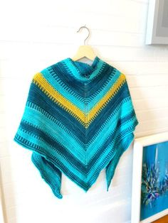 Flying V Knit Shawl by Vickie Howell