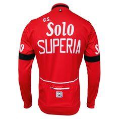 G.S. Solo Superia Retro Jersey - Long Sleeve Full Zip (75cm). Bike  StuffSoloing efb31cd7f