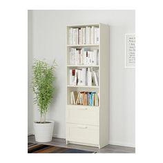 BRIMNES Bücherregal - weiß - IKEA