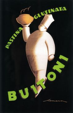 Tuscany, Italy - Buitoni Pasta - Vintage Promotional Poster