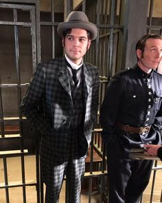 Watts got a new suit! From costume designer Murdock Mysteries, Music Tv, Victorian Fashion, Sherlock, Detective, Movies And Tv Shows, Actors & Actresses, Hot Guys, Fangirl