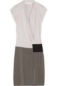 folie silk crepe wrap dress ++ diane von furstenburg