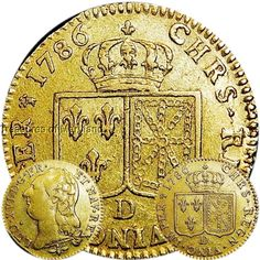 Circulated Uncertified Ungraded World Coins French Coins, Gold And Silver Coins, Louis Xiv, World Coins, Historical Architecture, Coin Collecting, Metallica, Precious Metals, Stamp