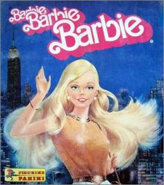 Barbie - Figurine Panini 1984