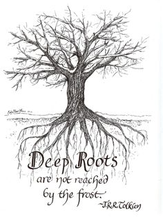 bible verses about roots of a tree for children