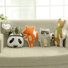 NEW Creative Korea kids pillow toy fox raccoon animal pillows kids nap pillow animal stuffed toys cute cartoon Toys for Children-in Stuffed & Plush Animals from Toys & Hobbies on Aliexpress.com | Alibaba Group