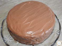Tort de casa Nutella, Tiramisu, Pudding, Drink, Desserts, Projects, Food, Mascarpone, Fine Dining