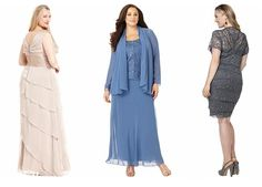 mother of the bride dresses tea length plus size petite - Google Search