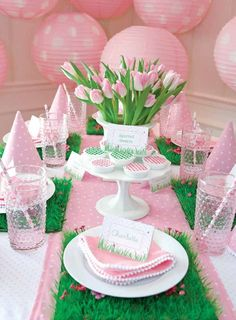 Spring Table . . .