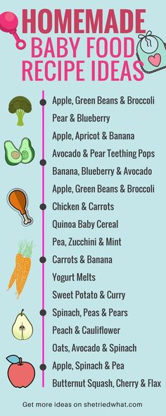 Homemade baby food recipes with save you SO much money and keep your baby healthy! Love these ideas for berry applesauce, pureed chicken and carrots and diy yogurt melts! Recipes for stage 1, 6-9 months and more. #diybabyfood #baby #homemadebabyfoods
