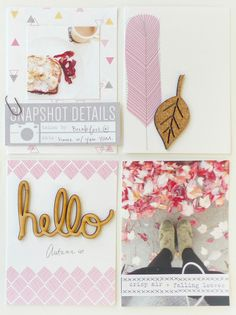 Project Life 2014 - Hello Autumn by analogpaper at @studio_calico