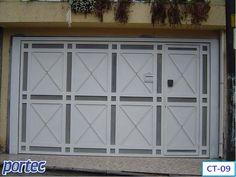 Portão de Chapa com Tela Ondulada - CT09 | Portec - Portões Automáticos e basculantes