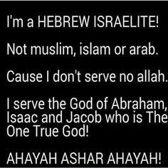 Wake up black people of slavery. Judah wake up and lead. (Muslim, jew, arab, syria, iraq, koran, bible,) turn to the bible and Ahayah!!!!