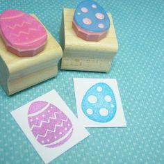 Easter egg stamps