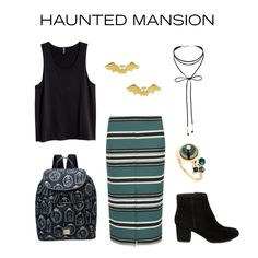 Disneyland attraction OOTD inspiration: Haunted Mansion | fashion | [ https://style.disney.com/fashion/2016/07/11/ride-inspiration-haunted-mansion/ ]