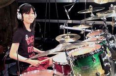 Senri Kawaguchi Amazing Japanese Girl Drummer