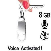 Digitaler Voicerecorder als Abhörgerät im Schlüsselanhänger bei www.abhoergeraete.com Personalized Items