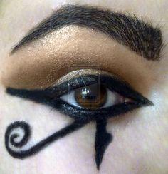 Image result for evil eye makeup