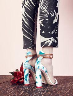 c3ee32bc3ed7 Sophia Webster™ for J.Crew Nicole block heels    TropicalPants  heels