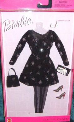 Fashion Avenue Evening Star 1999 Party Dress Mini Clothes Barbie Doll | eBay