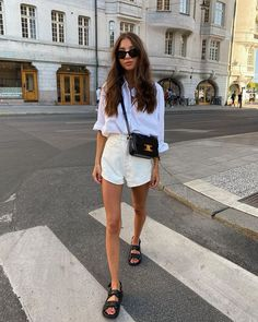 Classy Outfits, Pretty Outfits, Chic Outfits, Fashion Outfits, Looks Street Style, Street Style Summer, Spring Summer Fashion, Spring Outfits, Casual Summer Outfits