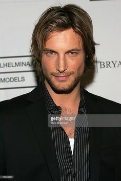 Model Gabriel Aubry attends the Premiere & Launch Party for VH1's The Agency at the Bryant Park Hotel February 7, 2007 in New York City.