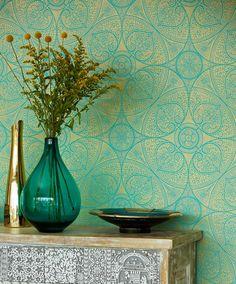 Kassandra | Novelty wallpaper | Wallpaper patterns | Wallpaper from the 70s